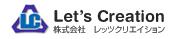 株式会社レッツクリエイションのロゴ