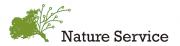 NPO法人 Nature Serviceのロゴ