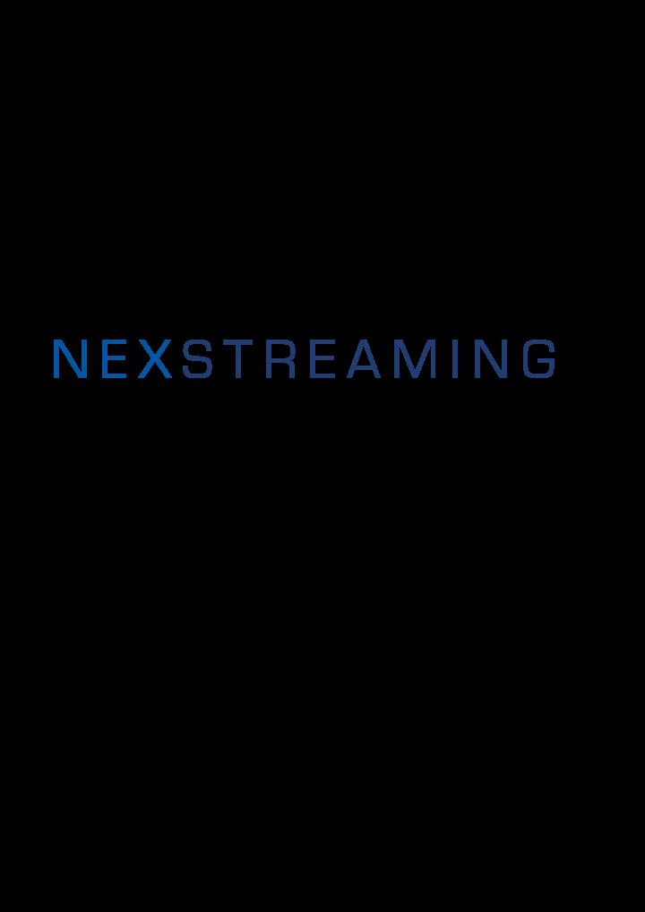 NEXSTREAMING Corporationのプレスリリース画像1