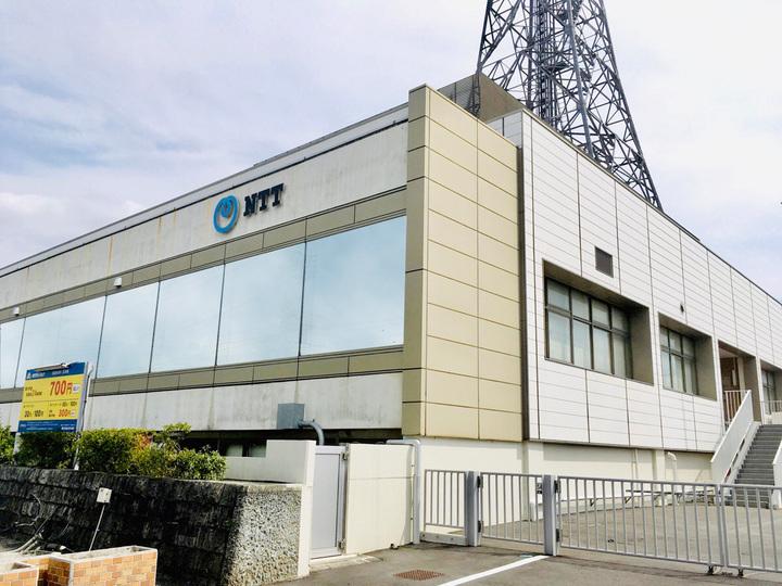 NTT東日本の局舎ビル・駐車場等