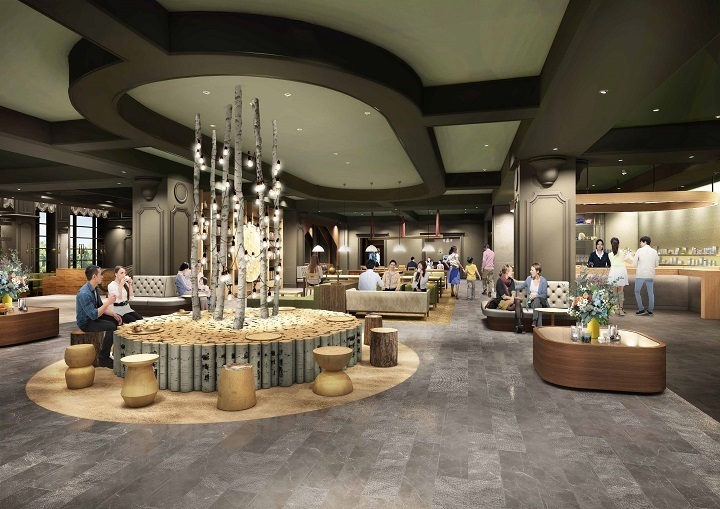 Lobby lounge  Review of ShangriLa Hotel Suzhou Suzhou